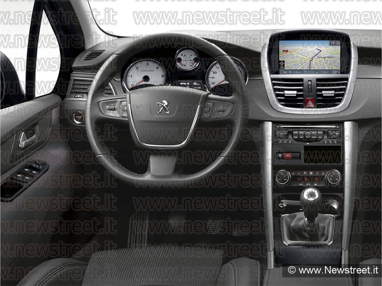De nouveaux photomontages de la future peugeot 208 for Interieur peugeot 208