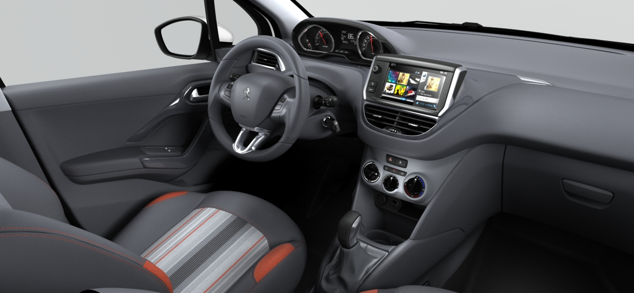 Peugeot 208 active f line 208 for Interieur peugeot 208