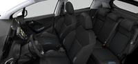 Intérieur Maille 3D Ekmet Mistral Bleu Peugeot 208