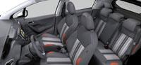 Intérieur Maille Rayul Corail Peugeot 208