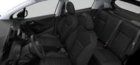 Intérieur Tissu Etnical Noir Mistral Peugeot 208