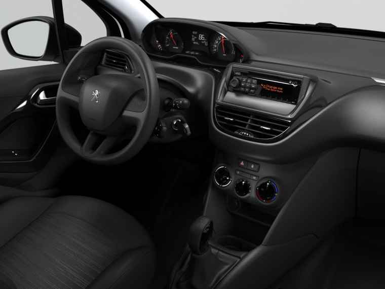 autoradio wip sound d 39 entr e de gamme peugeot 208 equipements embarqu s audio hi fi et. Black Bedroom Furniture Sets. Home Design Ideas