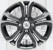 Jante Peugeot 208 Hélium Technical Grey 16 pouces