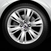 Jante Peugeot 208 XY Mercure Diamantée / Eclat 17 pouces
