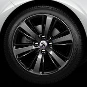 Jante Peugeot 208 XY Mercure Diamantée / Noir Onyx 17 pouces