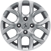 Jante Peugeot 208 Scandium 15 pouces