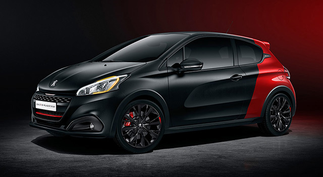 peugeot 208 gti by peugeot sport f line 208. Black Bedroom Furniture Sets. Home Design Ideas