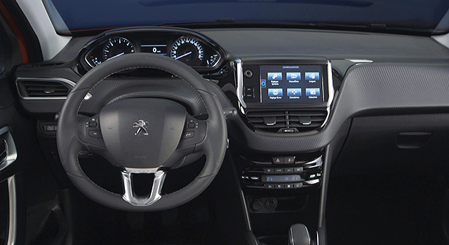 Int rieur peugeot 208 restyl e 2015 vid o officielle for Interieur peugeot 208