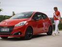 Vidéo : Camille Cerf, Miss France 2015 essaye la nouvelle Peugeot 208