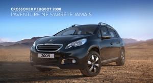Publicité TV Peugeot 2008 - L'aventure ne s'arrête jamais (20s) - 2015