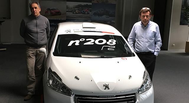 Peugeot Sport fête sa 208ème Peugeot 208 R2 !