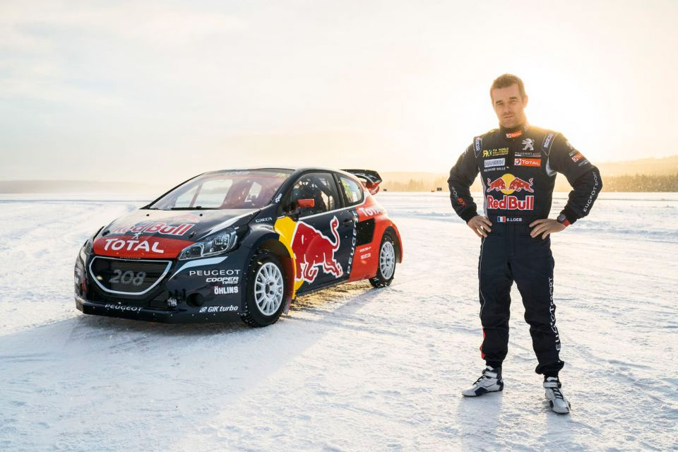 s bastien loeb rejoint le team peugeot hansen en peugeot 208 wrx au championnat du monde de. Black Bedroom Furniture Sets. Home Design Ideas