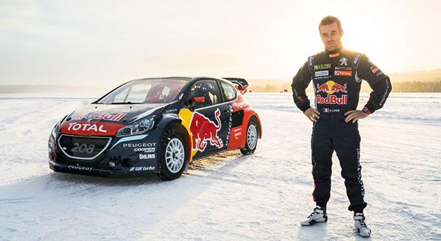 Sébastien Loeb rejoint le Team Peugeot Hansen en Peugeot 208 WRX au championnat du monde de Rallycross!