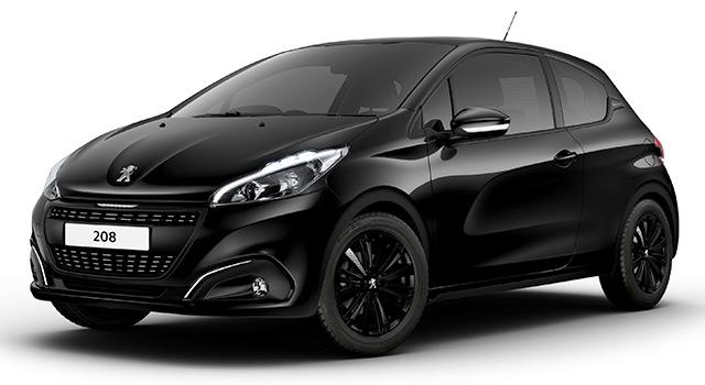 Peugeot 208 Black Edition : une nouvelle série spéciale au Royaume-Uni