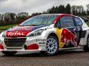 Rallycross : présentation de la Peugeot 208 WRX édition 2017 !