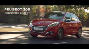 Publicité TV Peugeot 208 restylée - « Connected Energy » (30s) - 2017