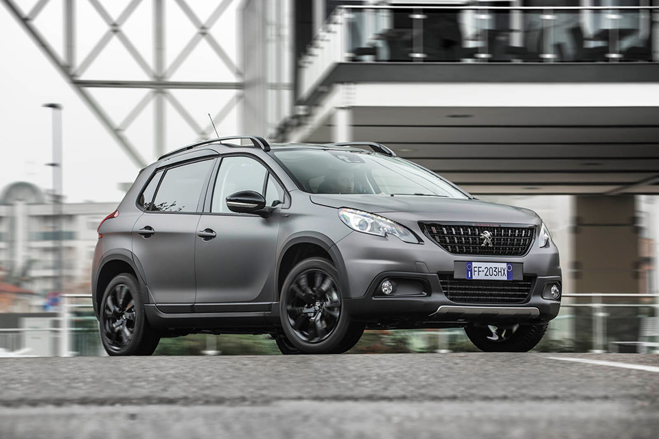 Photo Peugeot 2008 Black Matt 2017 (Italie)