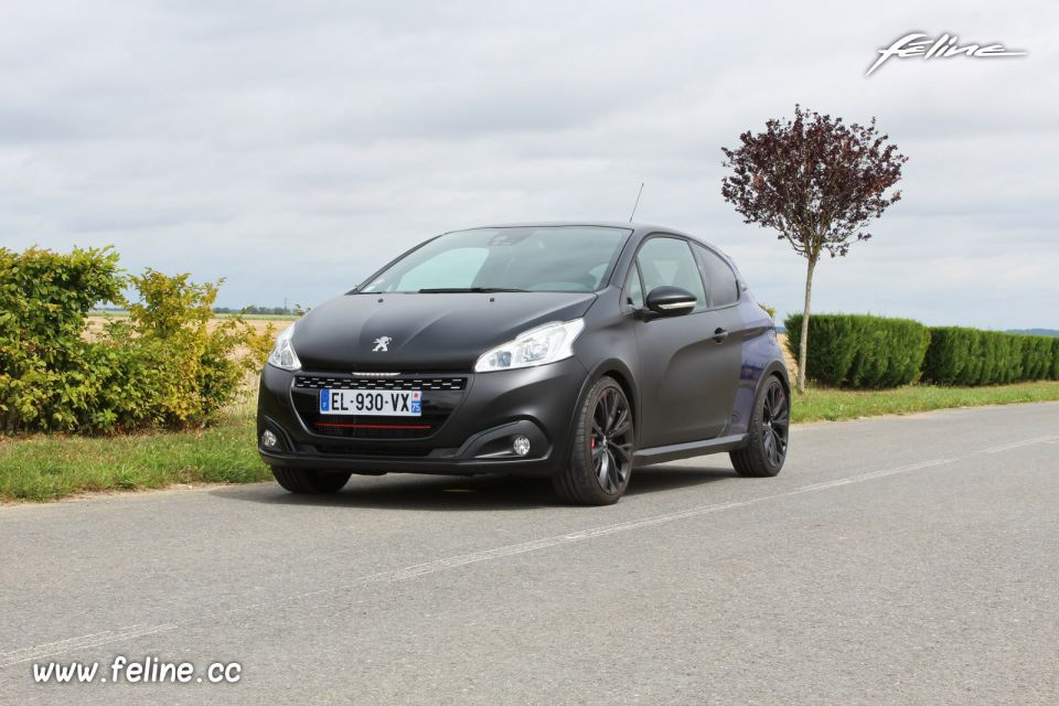 Photo essai route Peugeot 208 GTi by Peugeot Sport (2017)