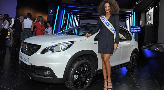 Miss France 2017 a pris livraison de sa nouvelle Peugeot 2008 !