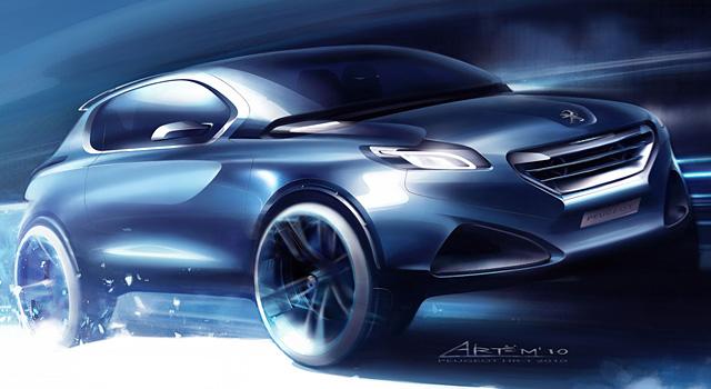 Concept Cars Peugeot 208