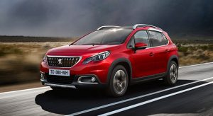 Tarifs de la Peugeot 2008