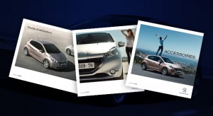 Brochures et Documentations de la Peugeot 208