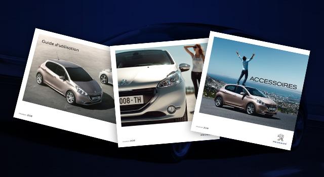 Brochures et Documentations de la Peugeot 208
