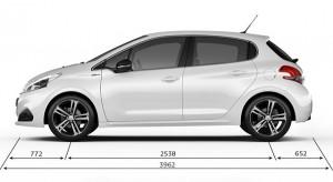 Caractéristiques et Fiches Techniques Peugeot 208