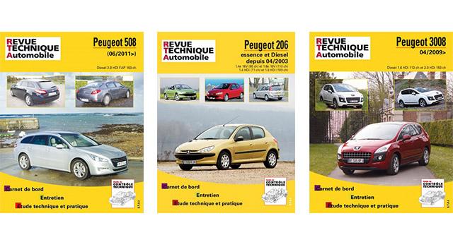 revues techniques automobiles peugeot 208 et 2008 rta f line 208. Black Bedroom Furniture Sets. Home Design Ideas
