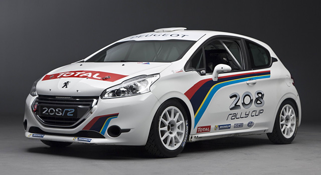peugeot 208 r2 par peugeot sport rallye 208 rally cup 208 rally trophy f line 208. Black Bedroom Furniture Sets. Home Design Ideas