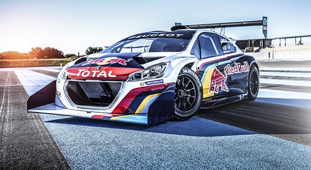 Rally Car Racing >> Peugeot 208 T16 Pikes Peak par Peugeot Sport - Féline 208