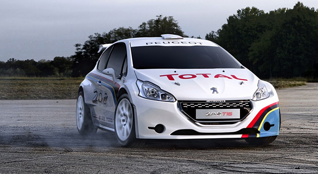 Peugeot 208 T16 Pikes Peak Test Version By Spark