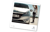 Catalogue Peugeot 208