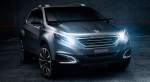 Présentation de la Peugeot Urban Crossover Concept