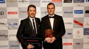 Peugeot reçoit deux prix au Festival Automobile International