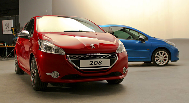 Comparatif : la Peugeot 208 GTi face  la Peugeot 207 RC !