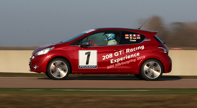 Peugeot 208 GTi Racing Experience : Finale internationale