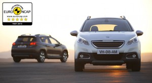 Crash Test EuroNCAP Peugeot 2008