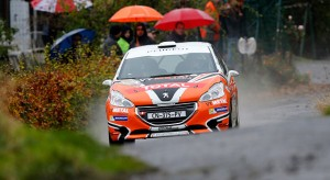 Peugeot 208 Rally Cup France - Résultats Rallye du Condroz : 1-3 novembre 2013 (7/7)