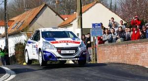 Peugeot 208 Rally Cup - Résultats Rallye du Touquet : 14-15 mars 2014 (1/8)