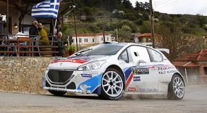 Peugeot 208 T16 - Acropolis Rally 2014