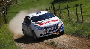 Peugeot 208 Rally Cup - Résultats Rallye Terre des Causses : 5-6 avril 2014 (2/8)