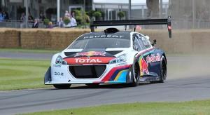 Goodwood 2014 : meilleur temps pour la Peugeot 208 T16 Pikes Peak
