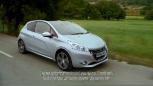 Publicité Peugeot 208 UK - Gary's Cat - 2012