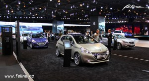 Photos : les Peugeot 208 et 2008 au Salon de Paris 2014