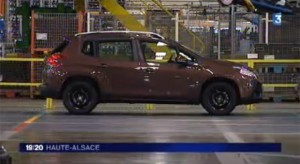 Lancement de la production de la Peugeot 2008 à Mulhouse
