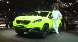 Vidéo : La Peugeot 2008 Concept au Mondial de Paris 2012