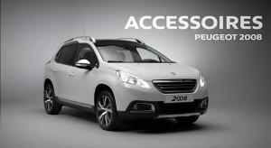 Les accessoires de la Peugeot 2008
