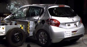 Crash Test Peugeot 208 - Euro NCAP