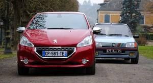 Comparatif vidéo Peugeot 208 GTi contre Peugeot 205 GTi